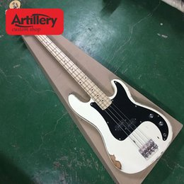 $enCountryForm.capitalKeyWord NZ - New Top quality factory custom P bass 4 strings electric bass Retro relic with maple fingerboard musical instument shop