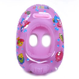 Inflatable Baby Float Seat NZ - New Thickened Baby Swimming Seat Inflatable Swim Pool Water Sport Inflatable Float Swimming Laps Kids Safely Rings Seat Boat Toy