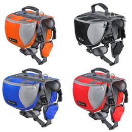 $enCountryForm.capitalKeyWord NZ - Pet Dog Saddle Bag Pack Backpack Medium and Large Big Dogs Bag for Outdoor Hiking Camping Training Pet Carrier Size S M L