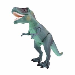 Wholesale 2018 New Cool Kids Toy RC Dinosaur Toy Electric Remote Control Animal Model Toys Funny RC Walking Dinosaur Model Toys