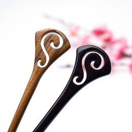 hair styles for weddings 2018 - Natural Wooden Jewelry for Women New Trendy Style Simple Minimalist Hairpin Hair Pin Stick Accessories Wedding Decoratio