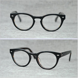 e75418f57ff2e Round Black Spectacles Canada - PS427 Vintage Small Glasses Clear Lenses Round  Optical Spectacle Eyeglasses Men