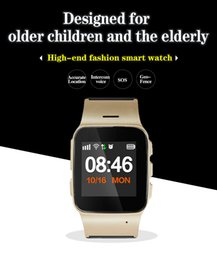 Wifi Google Maps Canada - GPS WIFI GSM Smartphone Watch for Elder Child Android Ios Smart Watch with Google Map Pedometer Russian Spanish SOS Bracelet