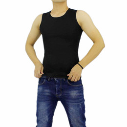 hot shapers vest men UK - 2018 Brand Men's Shirts Slim Fit Men Tank Tops Clothing Undershirt Fitness tops Hot Shapers Compression Slimming Vest Corsets