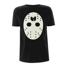 852e6b3b Wu Tang Clan Hockey Mask The Saga Continues Licensed Tee T-Shirt Men Funny  free shipping Casual Tshirt top