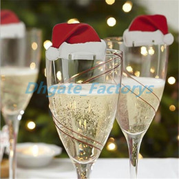 plastic christmas drinking glasses nz hot wine glass markers charms label christmas wine drink charms - Christmas Drinking Glasses