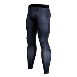 $enCountryForm.capitalKeyWord UK - 2018 new Men's Compression Pants Sport Tights Jogging Running Pants Men Bodybuilding Skinny Leggings Sport Fitness