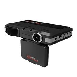 2in1 voiture DVR Radar Dash Cam vidéo Détecteur de vitesse vidéo / GPS voiture caméra Record 140 Résolution haute définition: 1280x720 en Solde