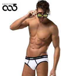 slip men underwear UK - 85 Brand Men Underwear Sexy Men Briefs Breathable Mens Slip Cueca Male Panties Underpants Briefs 7 colors B106