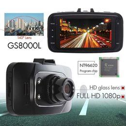 Hdmi digital video recorder online shopping - 1080P inch LCD Car DVR Vehicle Camera Video Recorder Dash Cam G sensor HDMI GS8000L Car recorder DVR DHL