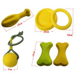 Vente en gros Fournitures pour animaux de compagnie fournitures balle molle jouet jouet molaire de chien de cinq pièces