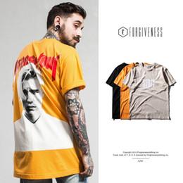 $enCountryForm.capitalKeyWord NZ - Harajuku Justin Bieber Printed Tee Cotton Men T-shirt Short Sleeve Casual Shirts