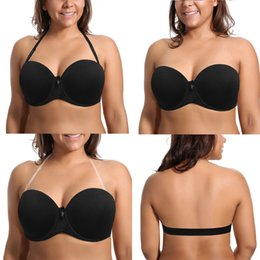 fc77b68b57 New Lady Push Up Plus Size Women Bra Sexy Lingerie Comfortable Underwear  Underwire Padded A B C D E F Cup 70 75 80 85 90 95 Size