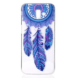 mobile phone covers for girls NZ - Transparent Soft TPU For Samsung Galaxy J6 Plus Case Cover Colour decoration Tower bike Butterfly Girl Design Mobile Phone Shell