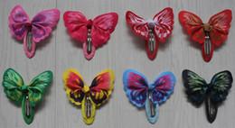 $enCountryForm.capitalKeyWord NZ - 70pcs 2.5 inch handmade print grosgrain ribbon hair clip bow flower for girls hair accessories,baby hair clip bow flowers