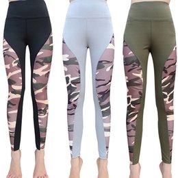Women S Yoga Pants Wholesale NZ - Women High Wasit Exercise Yoga Fitness Leggings Gym Sport Pants Stretch Trousers Athletics