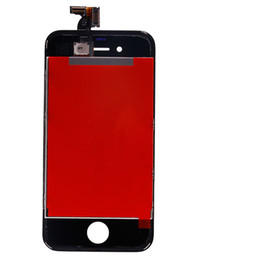 Lcd Screen Replacement Iphone 4s NZ - Wholesale Iphone 4S White Black Color LCD Screen Digitizer Completo Replacement Parts, No Dead Pixels
