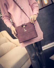 $enCountryForm.capitalKeyWord Canada - HOT SALE!2018 Women Messenger Bags Fashion Mini Bag With Deer Toy Shell Shape Bag Women Shoulder Bags handbag SB016