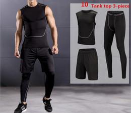 $enCountryForm.capitalKeyWord NZ - Men and teens compression tracksuit rashgarda mma short sleeves tights tactical leggings thermal underwear base layer S-4XL