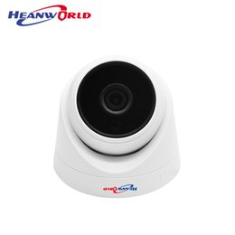 China Heanworld ip camera dome 720p 2.8mm wide angle cctv camera 1.0 mp hd surveillance ip cam security system dome camera alert onvif cheap hd infrared wide angle camera suppliers