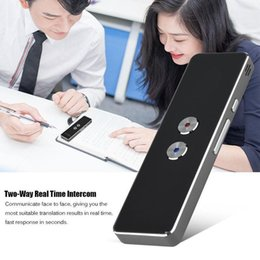 Ingrosso Easy Trans Smart Language Translator Instant Voice Speech Bluetooth 30 Lingue Two-Way Real Time Translation T8