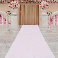 House Plates Australia - ShinyBeauty 32Inch by 15FT Iridescent Sequin Wedding Aisle Runner Marriage Ceremony Bridal Carpet Wedding Aisle Runner Indoor Wedding Aisle
