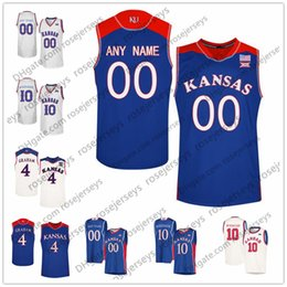 $enCountryForm.capitalKeyWord Canada - Custom Kansas Jayhawks College Basketball royal blue white Cream Stitched Any Name Number 5 Quentin Grimes 1 Dedric Lawson Jerseys S-4XL