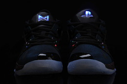 basketball shoes light up Canada - 2018 Lights UP PG 2 PlayStation Taurus Road Master Basketball Shoes for Paul George II PG2 2s PS Athletic Sport Sneakers Size 40-46
