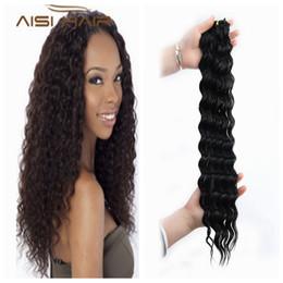 Loose Curls Long Hair Australia - Women's long mixed women's fake hair set straps ponytail gradient curly hair curls high temperature silk African American