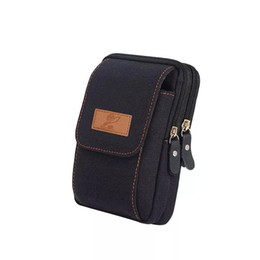 $enCountryForm.capitalKeyWord UK - Mobile phone hanging Fanny pack wearing belt belt leather cover shell universal multi-function small hanging bag multi-function