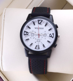 Glasses Trade Australia - Speed sell through foreign trade hot style men's casual sport watches silicone table high-grade casual watch