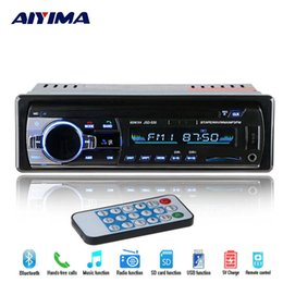Radio electRonic music online shopping - AIYIMA Mp3 Player Bluetooth V Car FM Radio Mp3 Music Player Support Bluetooth USB SD MMC Port Car Electronics In Dash DIN