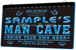 custom commercial bars 2019 - [F585] Personalized custom men's rugby beer bar NEW 3D Engraving LED Light Sign Customize on Demand 8 colors