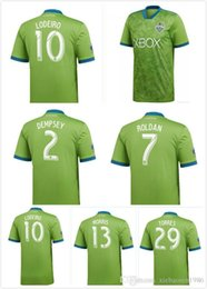 de6f76fc1 New 2018 2019 MLS soccer jersey 18 19 Seattle Sounders FC white ROLDAN  TORRES DEMPSEY MORRIS LODEIRO football shirts S-2XL