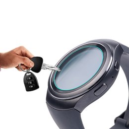 Filming gear online shopping - OOTDTY Tempered Glass Screen Protector Film For Samsung Gear S2 Classic Smart Watch