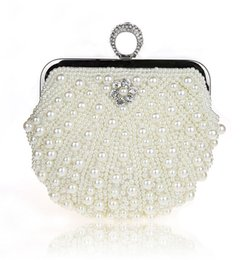 $enCountryForm.capitalKeyWord Canada - OUCEICE Full dress women Pearls evening bags luxury diamond day clutch knuckle rings beaded party purse and handbags mini shoulder bag 2019