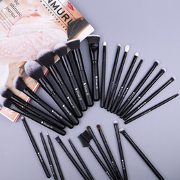 Goat Hair Dhl Australia - DUcare 27PCS Professional Makeup Brushes Set Powder Foundation Eyeshadow Make Up Brushes Soft Synthetic Hair Goat Hair Brushes DHL + GIFT