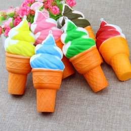 $enCountryForm.capitalKeyWord NZ - Slow Rebound Simulation Torch Soft Jumbo Ice cream Bread Colorful Cones Cellphone Gifts Slow Rising Ice Cream Kid Decompression Toy