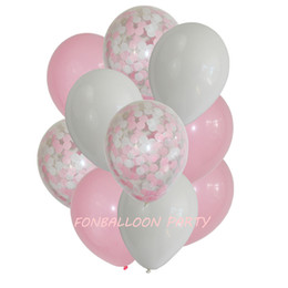 Diy balloons online shopping - 12 inches set Balloon Sets Bridal Baby Shower DIY Love Wedding Decoration Birthday Party Supplies Globos Kids Toys