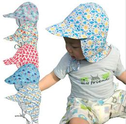 3b05c819b1bf2 8 Fotos Chapéus da tampa   venda-Crianças Chapéu de Sol Verão Pescoço  Proteção UV Meninas Meninos