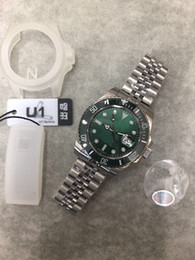 $enCountryForm.capitalKeyWord Australia - 2018 New Rolse U1 Factory Submersible 116610LV Green Crown ceramics Two different straps You Can Choose 40mm advanced men's wristwatch