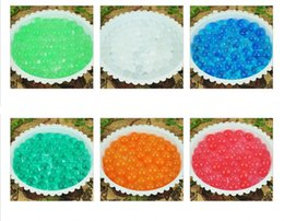 plant gels 2019 - 5kg New Magic 1 kilogram stunning Crystal Mud Soil-Water Beads gel For plants 10 color bulk pack O#16 discount plant gel