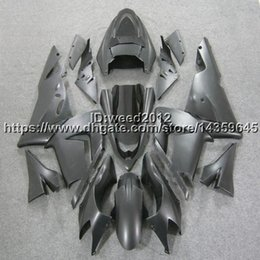 Body Ninja Zx Australia - Custom-color+5Gifts black motorcycle ABS article body kit for KAWASAKI Ninja ZX10R 2004-2005 ZX-10R fairing