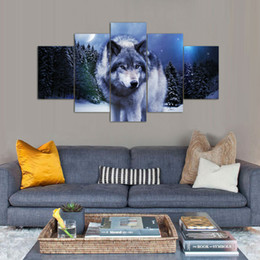 $enCountryForm.capitalKeyWord NZ - Framework Modular Pictures Modern On The Wall Art 5 Panel For Living Room Home Decor Abstract Painting On Canvas Drop Shipping Y18102209