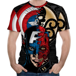 aec5ae329 New MMA Fitness Compression Shirt Men Short-sleeved 3DT-shirt Superheroes  Brand Clothing Marvel T-shir
