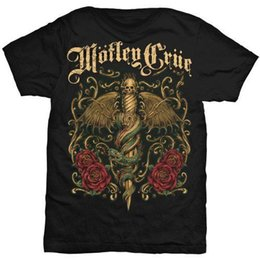 Wholesale Motley Crue Dr Feelgood Dagger T Shirt NEW OFFICIAL