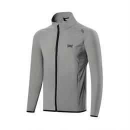 Primavera outono roupas de golfe jaqueta de golfe camisola homens roupas quick dry zíper de alta qualidade TA venda por atacado