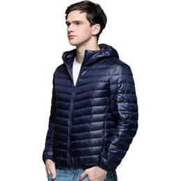 b1e33f52e11 Discount puffer down jackets - 90% White Duck Down Jacket Men Ultrailight  Thin Top Male