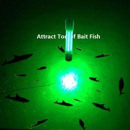 $enCountryForm.capitalKeyWord Australia - 12V LED Green Underwater Fishing Light Lamp 8W Fishing Boat Light Night Lure Lights for Attcating Fish
