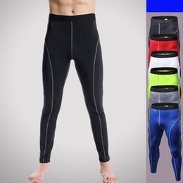 $enCountryForm.capitalKeyWord Australia - Men's Compression Sports Wear Tights Breathable Running Pants Men Bodybuilding Skinny Leggings Jogging Pants Fitness Trousers
